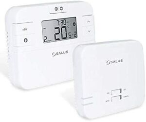 Wireless Central Heating Thermostat Remote Programmable Boiler Controller Units