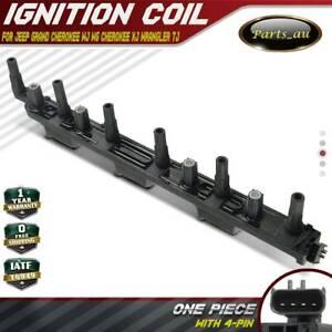 Ignition Coil Pack for Jeep Grand Cherokee WJ WG Cherokee XJ Wrangler TJ 4.0L