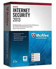 McAfee Internet Security 2013 1 User 1 Year Retail Box