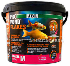 JBL Pro Pond Flakes M 0.72kg Floating Koi Fish Food 5-20mm Size Protein Fat