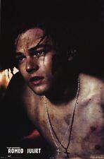 MOVIE POSTER~Romeo & AND Juliet Leonardo DiCaprio Claire Danes Shakespeare 1996~