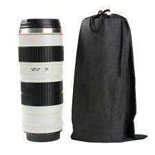 70-200mm Camera Lens Cup Thermos Travel Mug Water Coffee Tea Leak-Proof Lid