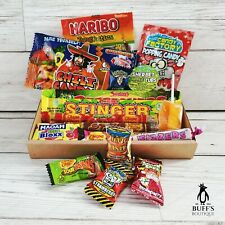 SMALL Sour Sweet/ Candy Mix Hamper Selection Letterbox Gift. Present, treats