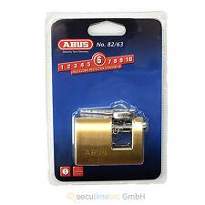 ABUS 82/63 Monoblock Vorhangschloss verschiedenschließend für Gittertüren Tore