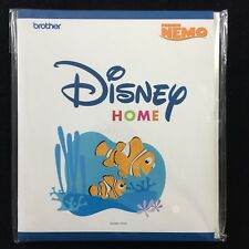 Embroidery Designs Card Finding Nemo for Brother Disney Embroidery Machines