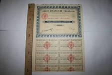 UNIÓN FINANCIERA FRANCESA  MADRID 1926, MBC VER FOTO