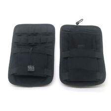 2X Black Saddlebag Organizer Hard Bags Storage For Harley Touring Bagger 08-18