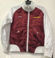 Washington Redskins Reebok Satin Jacket Youth X-Large 18/20 Red White NFL