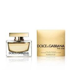 DOLCE & GABBANA D&G THE ONE 75ML EAU DE PARFUM SPRAY BRAND NEW & SEALED
