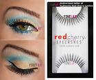 1 Pair AUTHENTIC RED CHERRY Lash 68 Suki False Eyelashes Human Hair Lashes