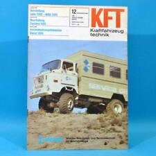 DDR KfT Kraftfahrzeugtechnik 12/1981 Lada 1300 Zastava 1100 Suzuki Alto Fiat 82