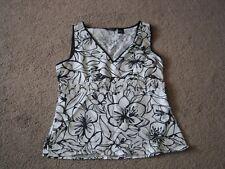 EUC Women's Size Small Sleeveless Linen Top by Autograph