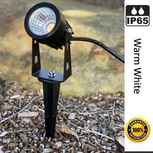 6 X 3W 12V Garden landscape path yard lights magnifying warm white Guarantee