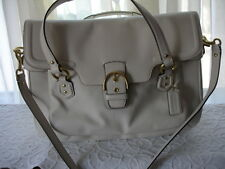COACH F26127  CAMPBELL  EVA FLAP BAG    IVORY / MSRP: $449.99 NWT