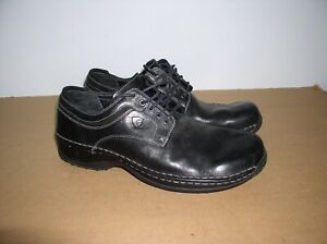 Men's Red Wing 4110 Beacon Oxford Black Leather Casual Work Shoes, Size 12,EE