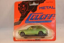 Solido 1313 Ford Fiesta green 1: 43 mint on card superb