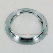 Olympus OM Lens to Canon EOS Mount Adapter Ring 7D 60D 600D 1200D 70D 700D 100D