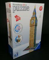 Ravensburger 3D Big Ben London Puzzle 216 Pieces 10+ New Sealed Christmas
