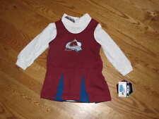 NEW Baby Girls Colorado Avalanche Cheerleader Dress 12M 12 Mo Cheerleading Cheer