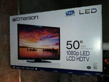 EMERSON LCD LED 1080p HD TV 50 IN NEW FACTORY SEALED MISB 0.99 NOT 4K UHD 3D lg