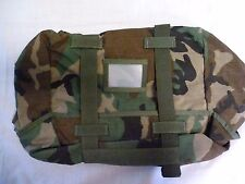 MOLLE II Sleep System Carrier New - Woodland Camo - Army Military Rucksack New