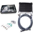 Black CNC Engine Oil Cooler Cooling Radiator For Motorcycles,Dirtbike,Pit Bike