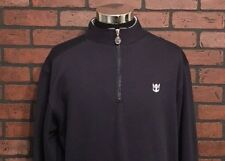 Royal Caribbean 1/4 Zip Pullover Sweatshirt Men's Size S/M Navy Blue