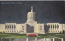 CC93.Vintage Postcard. Oregon State Capital at Salem. OR .USA