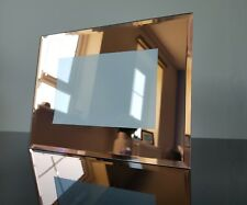 """Rose gold mirrored glass picture frame - 6 x 4"""""""