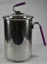 KUHN RIKON Burner Steamer Basket Pot Purple Asparagus Veggies