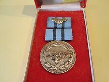 ORDRE Médaille du mérite ddr gdr Reichsbahn pour fidèles Services niveau