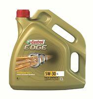 Castrol Gold EDGE 5W-30 LL / 4L Audi and VW Engine Oil