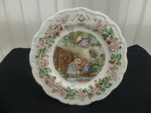 """ROYAL DOULTON BRAMBLY HEDGE 1997 8"""" COLLECTOR PLATE"""
