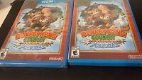 Donkey Kong Country: Tropical Freeze (Nintendo Wii U, 2014) Brand New Sealed