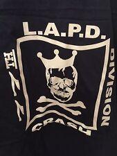 LAPD Los Angeles Police LASD  GANG shirt 77 ST T Size XL BLUE