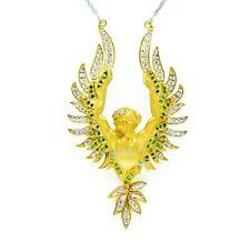 Magerit Amanecer Necklace Pendant 925 Sterling silver Silver gold plated