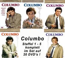 20 DVDs  * COLUMBO  |  SEASON /  STAFFEL 1 - 5 IM SET # NEU OVP +