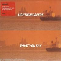 LIGHTNING SEEDS - What You Say (UK 5 Tk CD Single Pt 2/No Photographs)
