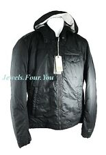 HUGO BOSS ORANGE OMITO-W JACKET & HOOD BLACK SIZE 44R XL BRAND NEW
