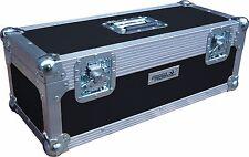 "7"" Single 300 Swan Flight Case Vinyl Record Box (Black Rigid PVC)"