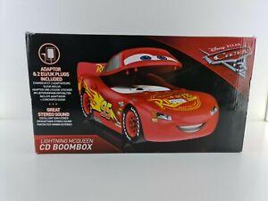 Cars 3 disney pixar , cd player , boombox new neu sealed
