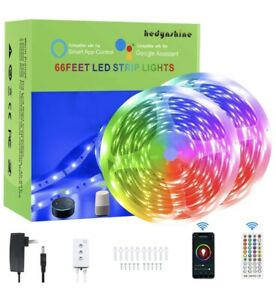 RGB Play Gradient Lightstrip 65 Feet / 20M LED Backlight Smart Light Strip Alexa