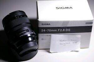 *pending* Sigma ART 24-70 2.8 DG Canon Mount EF *VGC*