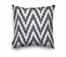 white and Grey Scandinavia Geometry Embroidery Cushion Covers 45 x 45 cm