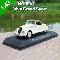 1:43 NOREV Renault Viva Grand Sport Diecast Model Car Collection Toy New In Box
