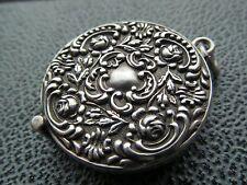 Vintage silver hallmarked magnifying glass, Birmingham 1904