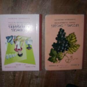 Lot de 2 anciens livres scolaires