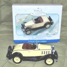 Hallmark Christmas Ornament 1932 Chevrolet Roadster -1999 - NM+ w/ box