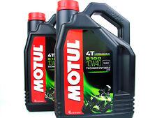 Motul 5100 4T Sae10w40 Ester motocicleta aceite 4 litro botella