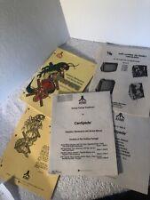 Atari, Original, Arcade, Monitor, Centipede, Operation, Maintenance, Manuals set